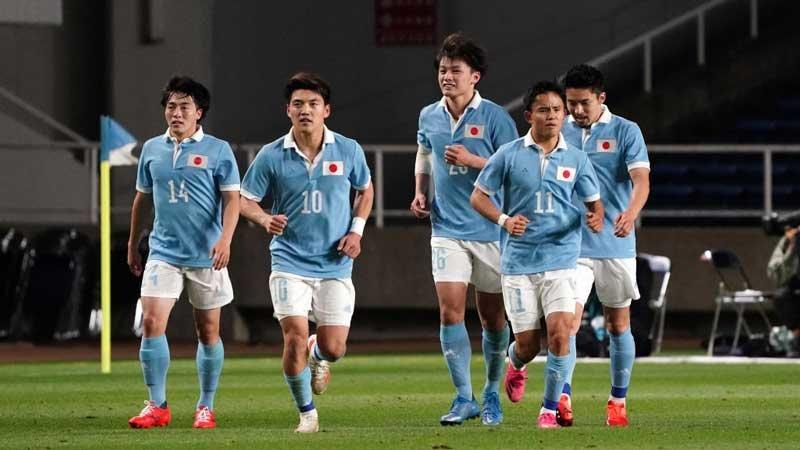堂安、久保、上田、相馬、三苫ら攻撃陣が躍動!U−24日本代表がガーナに6-0完勝