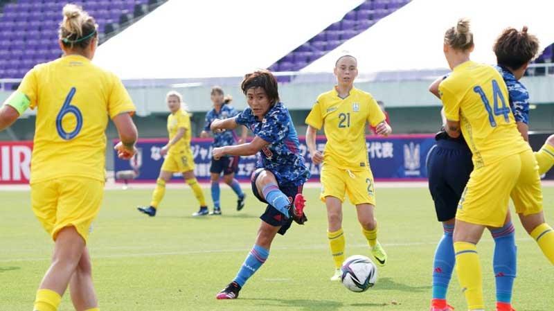 五輪代表チームへの生き残りをかけ選手たちが躍動!なでしこジャパンがウクライナに8-0で完勝