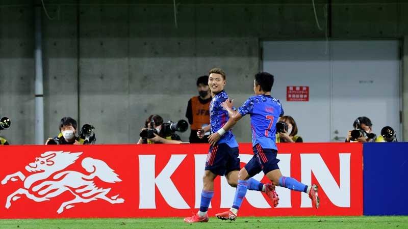 東京五輪前最終強化試合、U−24日本代表はスペインと引き分ける。先制弾の堂安律は4試合連続ゴール