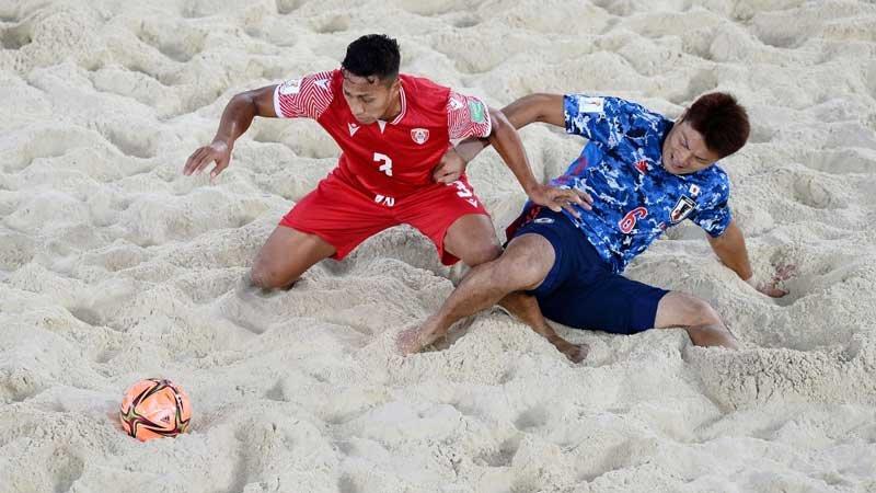 タヒチとの激戦を制したビーチサッカー日本代表が2大会連続ベスト4進出