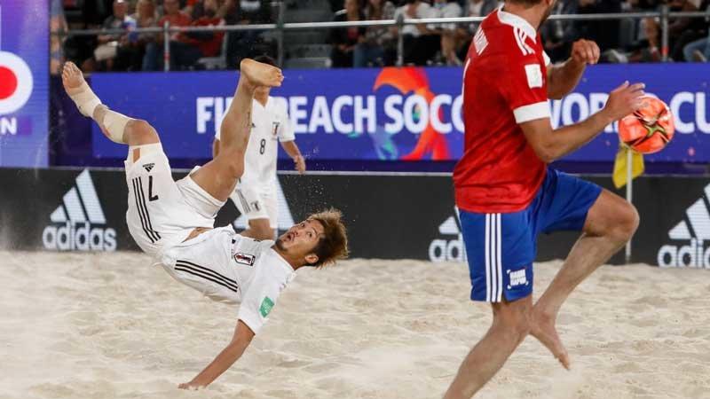 ビーチサッカー日本代表、開催国ロシアの守備崩せず。W杯初優勝逃す