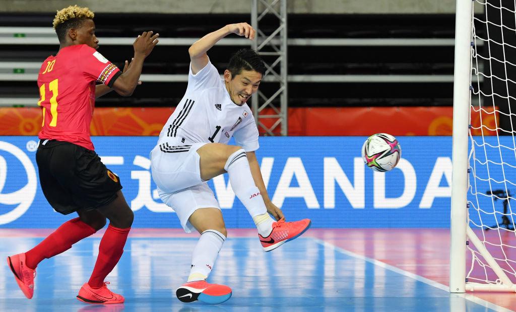 2大会ぶりのW杯初戦、フットサル日本代表がアンゴラに快勝!