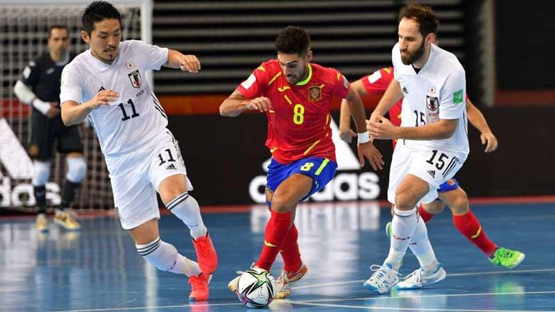 フットサル日本代表、ジャイアントキリングはならず。強豪スペインに逆転負け