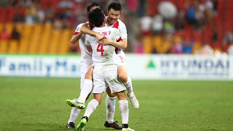 【アジアカップ・中国全ゴール動画】得点への嗅覚を持ち合わせるソン・クァーが3得点で気を吐く