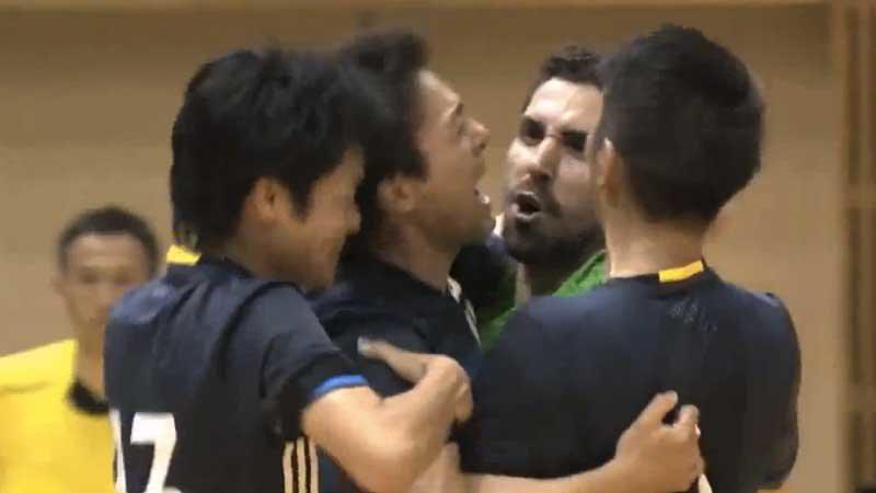 新生フットサル日本代表、強豪ウズベクと3−3ドロー