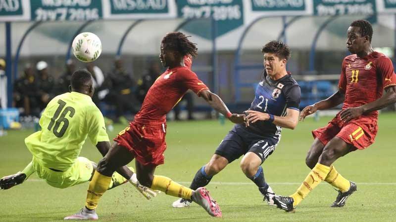 「熊本にも勝利のパワーを」U-23日本代表がガーナを3−0で一蹴。