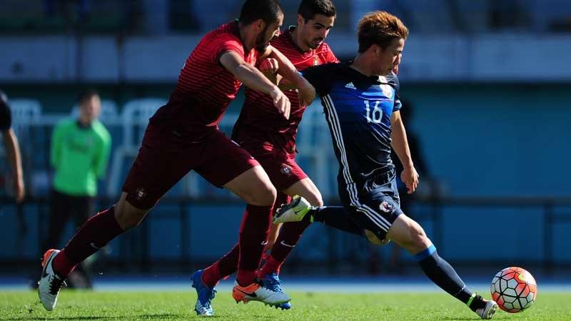怪我人続出の手倉森ジャパン、内容改善もポルトガルに敗れ2連敗