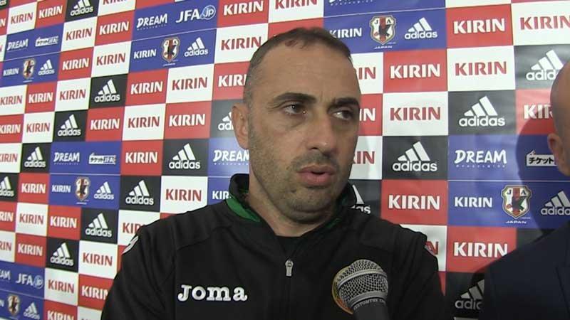 「日本戦と同じメンバーで2か月前にポルトガル代表に勝ったけれど...」ブルガリア代表監督、語る