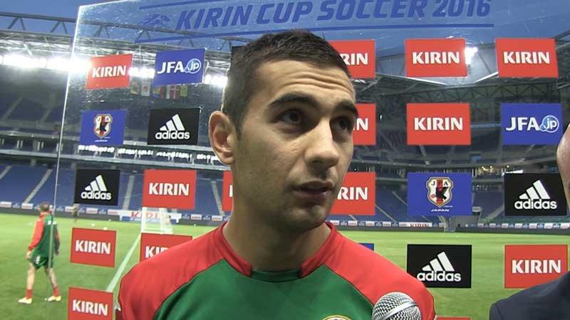 「日本代表を欧州のチームに例えるなら、スペイン、オランダ。ボールを常に支配し、攻撃的。」ブルガリア代表インタビュー