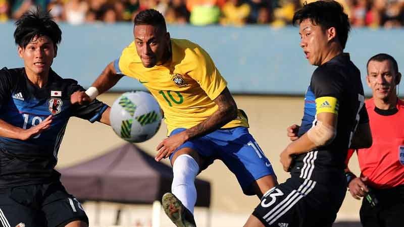 手倉森ジャパン、ネイマール率いる開催国ブラジルに力の差を見せつけられる完敗