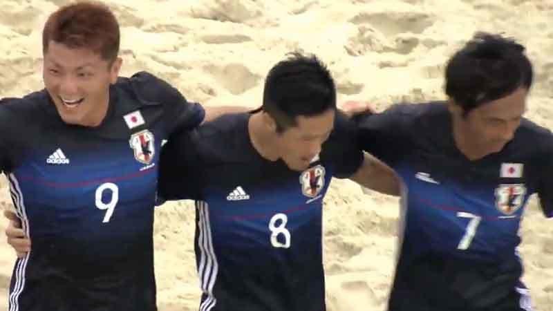 ビーチサッカーW杯準優勝国に2連勝、日本代表は威勢のにってベトナム・ダナンへ