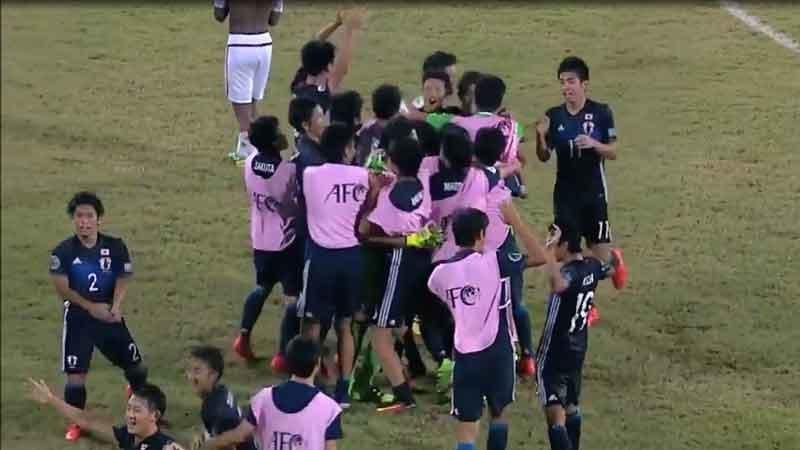 苦しい試合展開を制した若き日本代表、2大会ぶりのU-17W杯出場決める