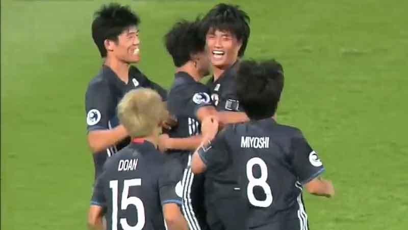 日本代表はイエメンに完勝スタート、AFC U-19選手権始まる