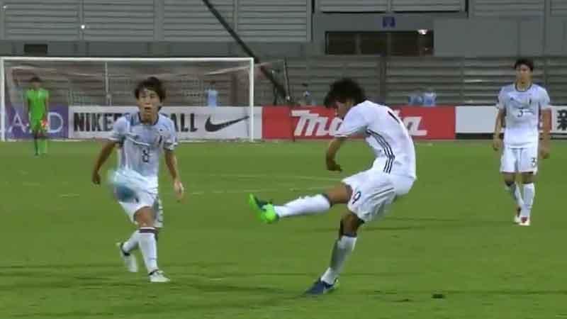 日本、タジキスタンに4−0圧勝で5大会ぶりのU-20W杯出場決める