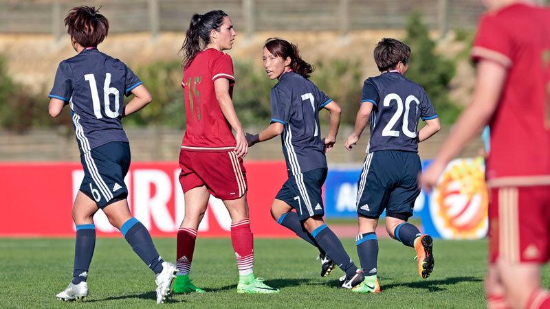 「ヤングなでしこ世代」が奮闘するも初戦はスペインに2−1の完敗