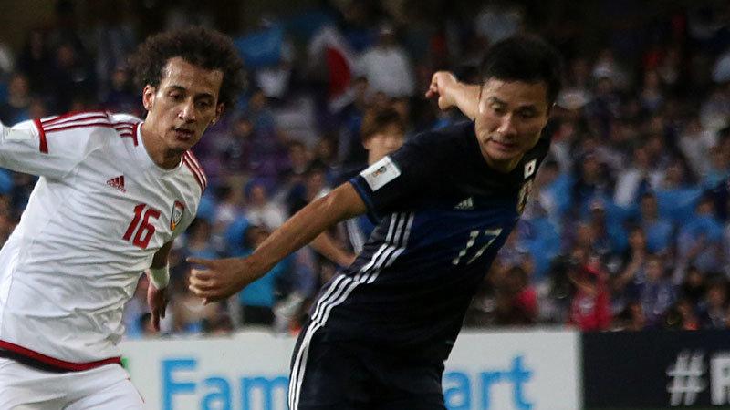今野スタメン起用が大成功、攻守に大車輪の活躍で日本代表が2-0快勝、UAEにアウェイでリベンジ果たす