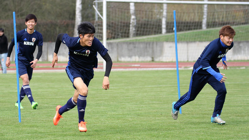 【U-20日本代表】サムライボーイズ、9日間で4試合を戦うドイツ武者修行ツアーを敢行中