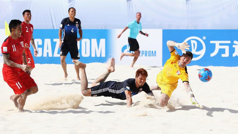 ビーチ日本代表、強豪タヒチに惜敗。GS突破は次戦・ブラジル戦の結果次第に