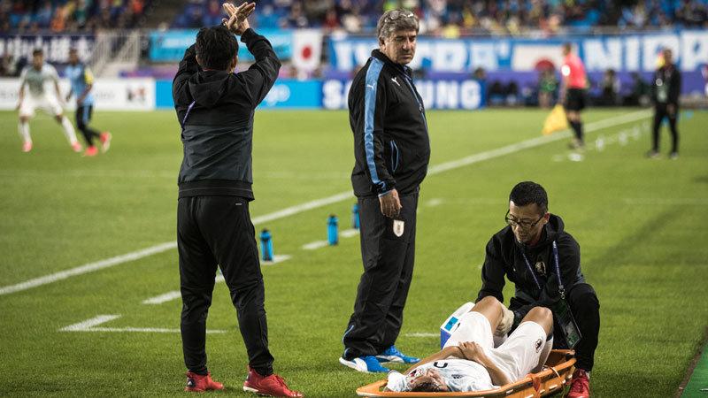 U-20日本代表、強豪ウルグアイに迫るも惜敗。エース小川の負傷退場響く