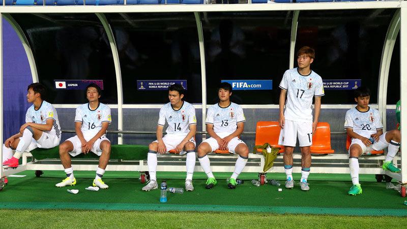 U-20日本代表、ベスト16で終戦。好機活かせず、延長後半にベネズエラのセットプレイ一発に泣く