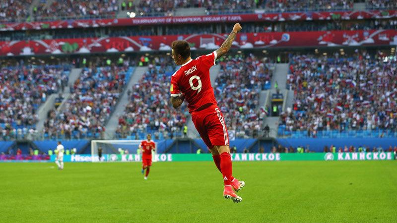 FIFAコンフェデレーションズカップ開幕、開催国ロシアがニュージーランドに完勝スタート