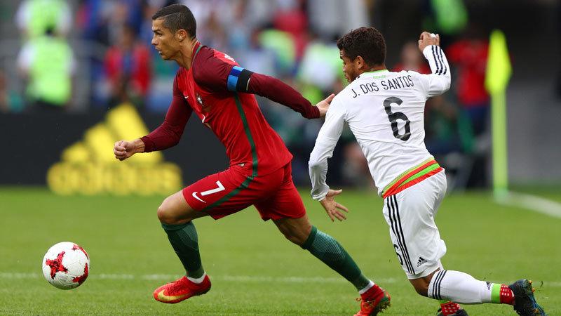 ポルトガルがロナウドらの活躍で2度勝ち越すも、メキシコが執念で追い付きドロー