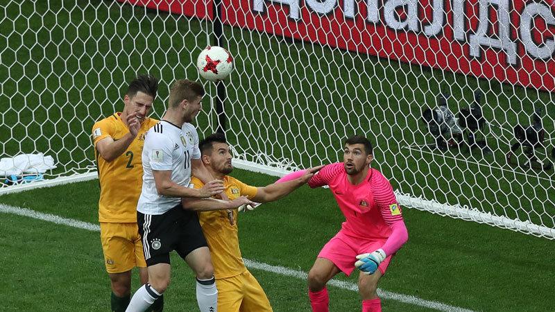 ヤング・ドイツ、食い下がるオーストラリアを振り切り勝点3を獲得