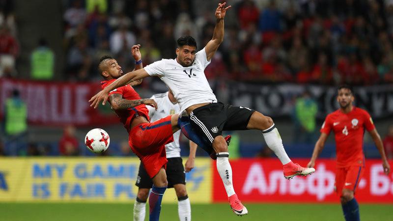 ドイツ、チリ共に準決勝進出決定は最終節へ。優勝候補同士のハイレベルな戦いはドロー