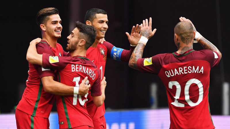 欧州王者ポルトガルがNZに4−0完勝、グループAの首位突破が確定