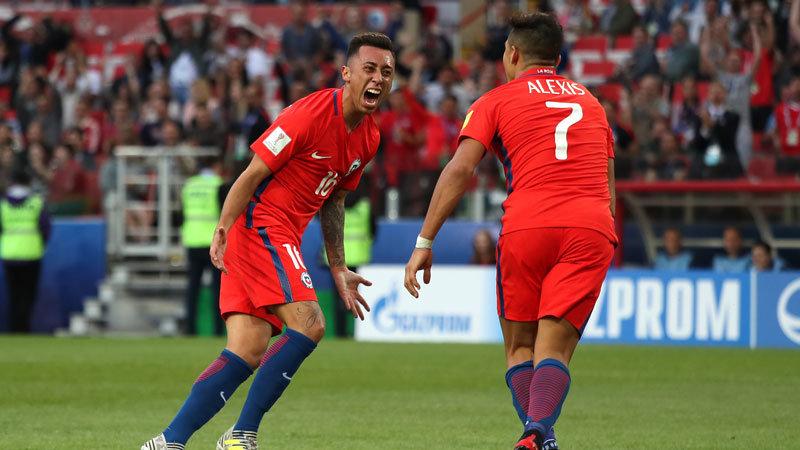 チリがオーストラリアに辛くも引き分け、ポルトガルの待つ準決勝へ