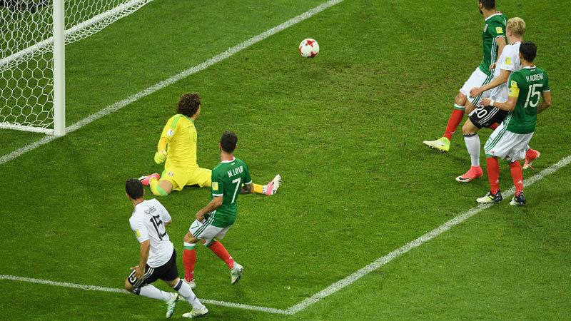 強すぎるドイツがメキシコに4発完勝、南米王者の待つ決勝へ