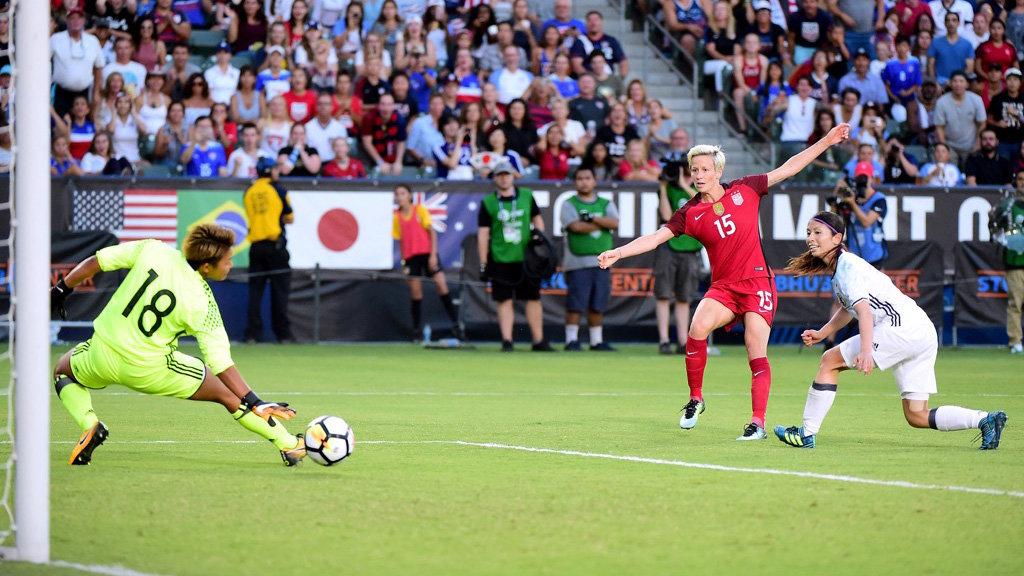 なでしこジャパン、アメリカに攻守で圧倒され、0-3完敗