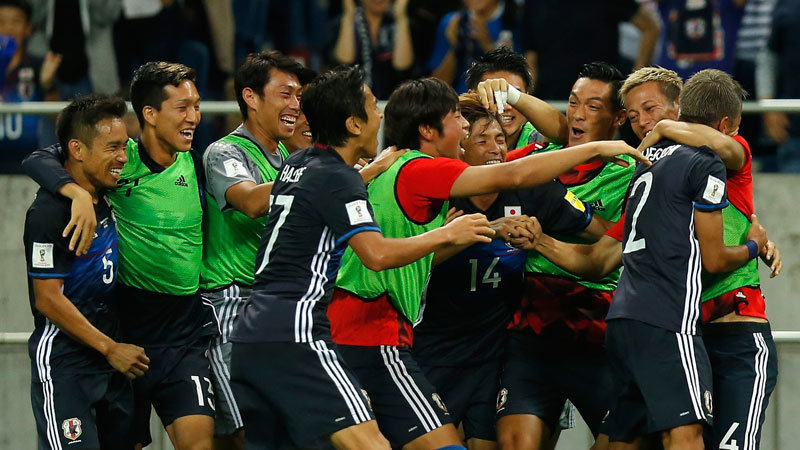 祝6大会連続ワールドカップ本戦出場決定!