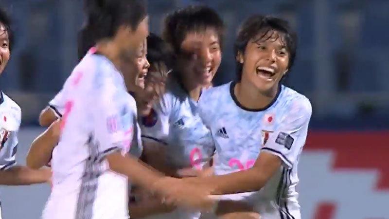 リトルなでしこ、北朝鮮相手に見事な逆転勝利でグループステージ全勝首位通過!準決勝の相手は韓国