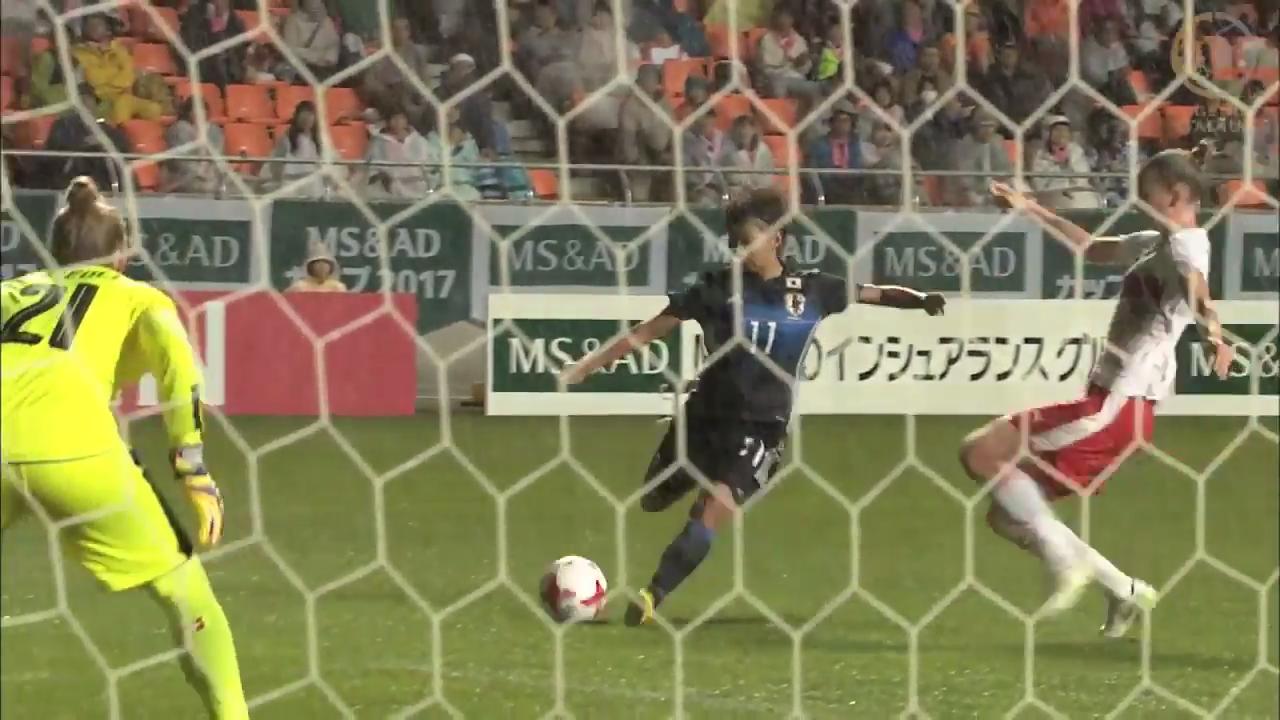 なでしこジャパン、中島依美と田中美南のゴールで強豪スイスから完封勝利