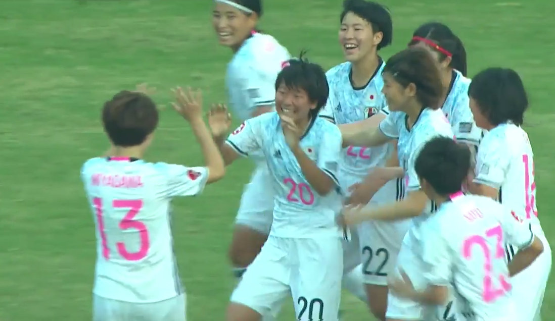 ヤングなでしこが村岡真実、菅野奏音の2発で韓国に完勝、3連勝で準決勝へ
