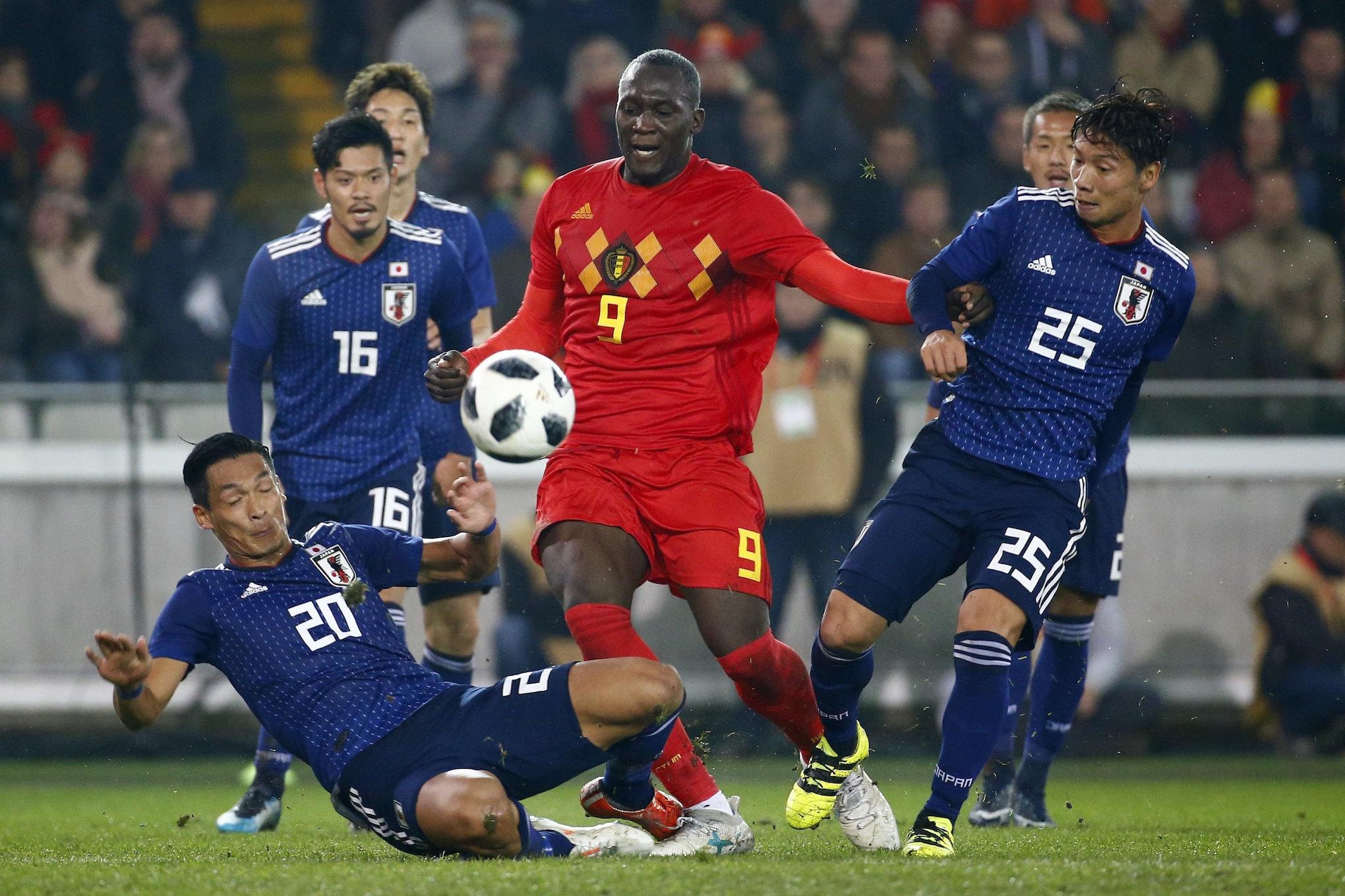 【ハイライト動画】ハリルジャパン、強豪ベルギー相手に善戦するが、エース・ルカクに決められ力負け