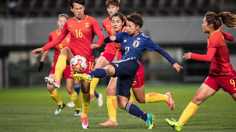 【ハイライト動画】なでしこジャパンが田中の決勝弾で中国に競り勝ち、最終節北朝鮮戦に優勝懸ける