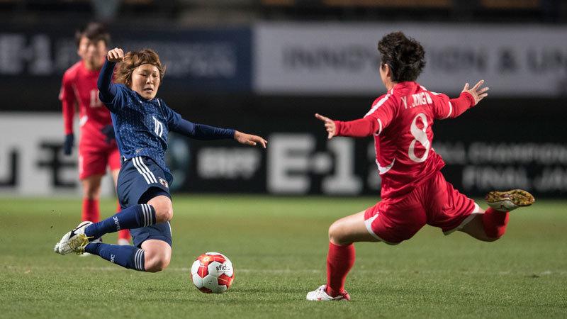 【ハイライト動画】開催国日本の優勝ならず…なでしこジャパンは北朝鮮に0−2完敗