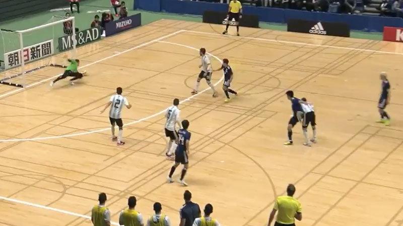 【ハイライト動画】フットサル日本代表、W杯王者アルゼンチンに先制するも逆転され連敗