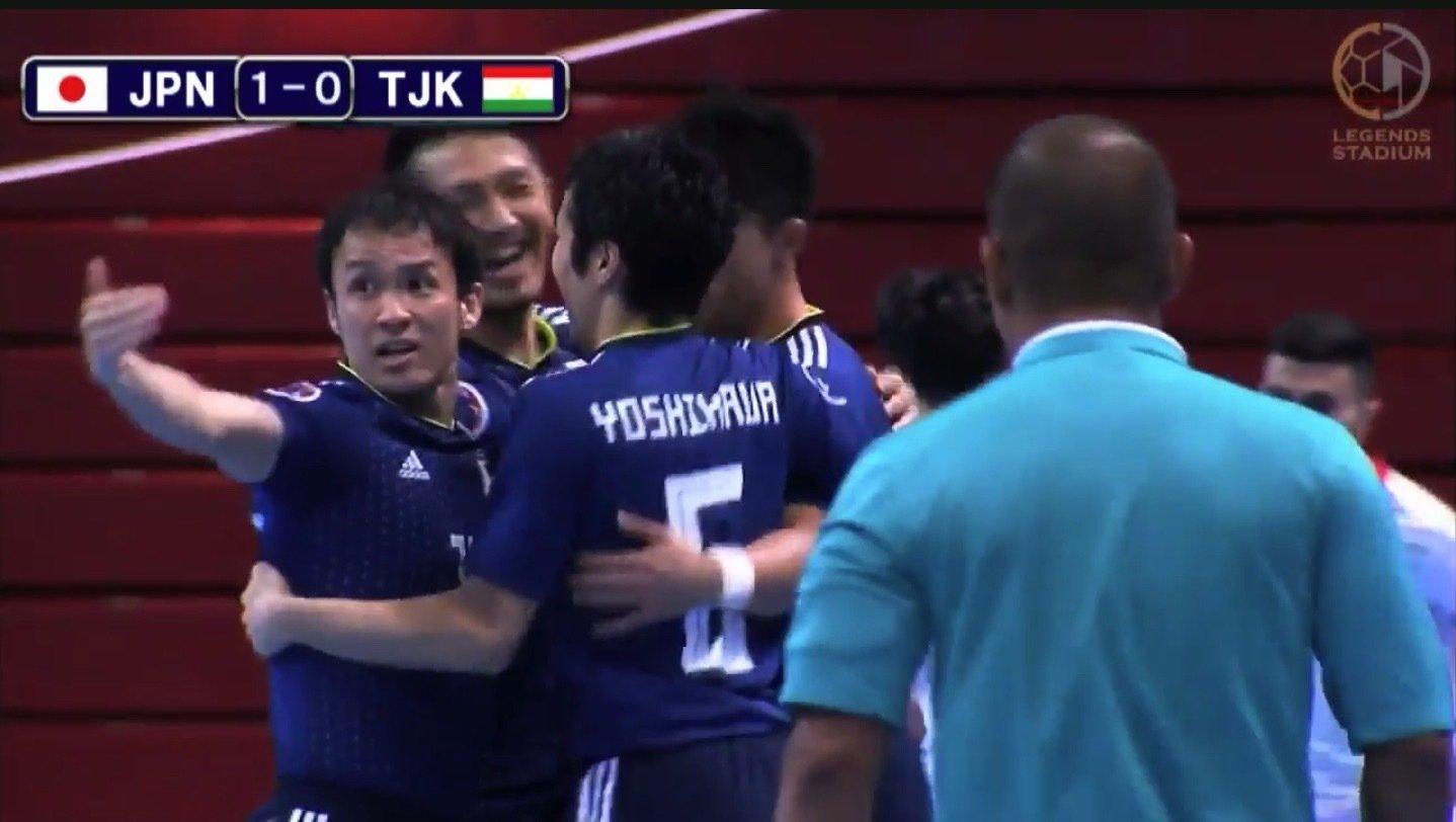 【ハイライト動画】アジア王者奪還へ フットサル日本代表がタジキスタンとの初戦に勝利