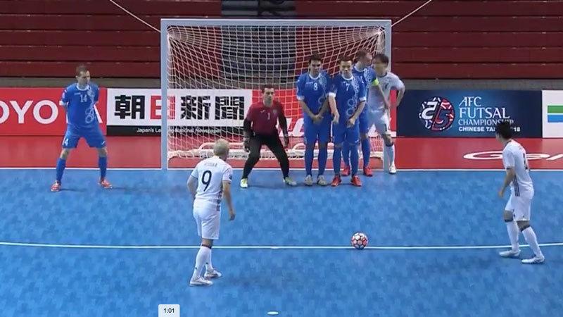【ハイライト動画】強豪ウズベキスタンに4ゴール逆転勝利、フットサル日本代表が堂々のGS1位突破決める
