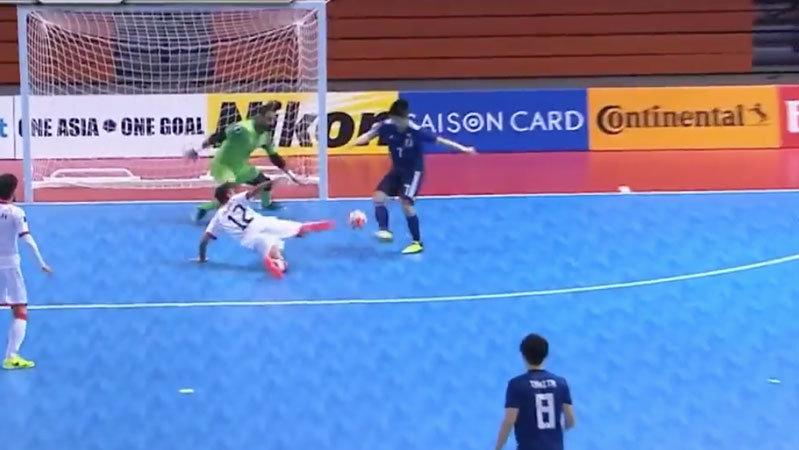 【ハイライト動画】フットサル日本代表がバーレーンに手堅い試合運びで2−0完勝、準決勝進出決める