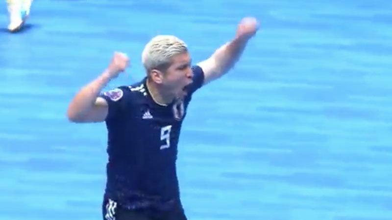 【ハイライト動画】フットサル日本代表が決勝進出!イラクに3−0で勝利、アジア王座奪還へ