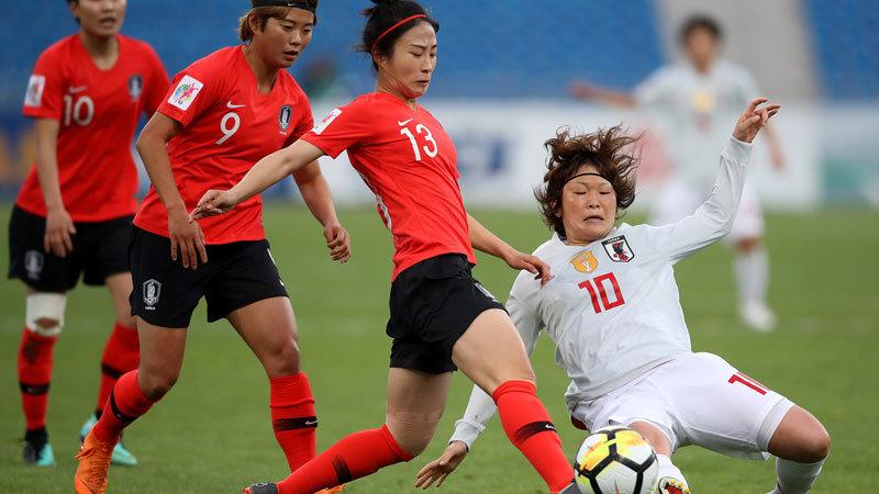 【ハイライト動画】なでしこ、韓国と引き分ける。W杯本戦出場権決定はオーストラリアとの直接対決に持ち越し