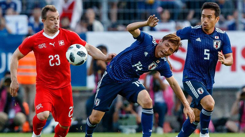 【ハイライト動画】西野ジャパンはまたも無得点敗戦。強豪スイスに形は作れるもフィニッシュの精度欠く