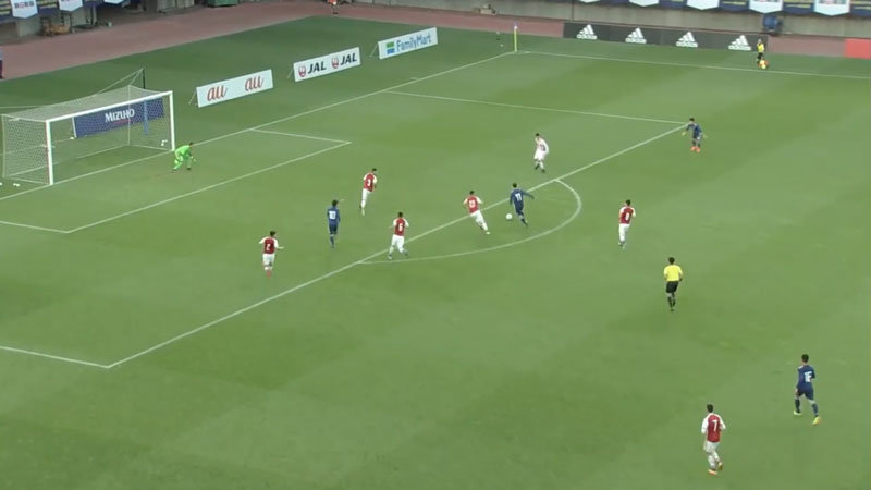 【ハイライト動画】U-16でも日本とパラグアイが激突、終始、試合を推し気味に進めるも惜敗