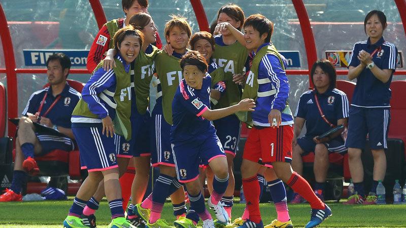 前半を終え、日本vsイングランドは1−1