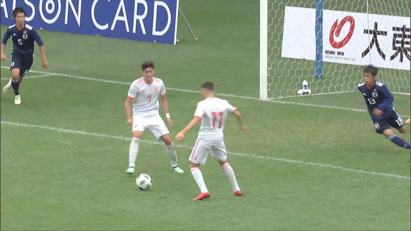 【ハイライト動画】U-16日本代表、スペインの攻撃力に圧倒され完敗、3連敗で大会全日程を終了