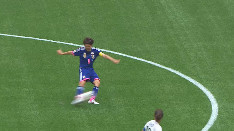 日本、エース大儀見のゴールでまずは1点を返す 1−4